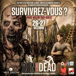 Walibi Run from the Dead 26-27 octobre